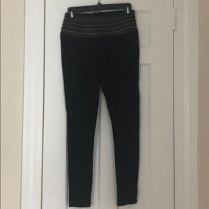 Bebe brand black leggings